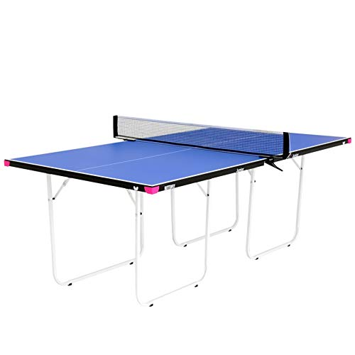 Butterfly Junior Ping Pong Table | 3/4 Size Table Tennis Table | Folding Ping Pong Table with Wheels | Larger & Easier to Play Than Mid-Size Table Tennis Tables | 3 Year Warranty | Ships Assembled (Foldable Tables Pong Sale Ping For)
