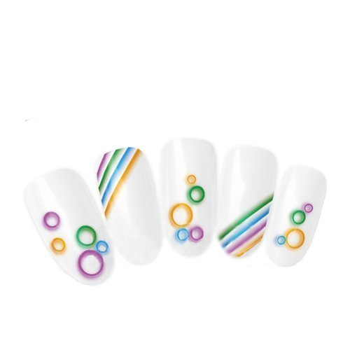 Nicedeco - Beautiful & Fun & Colorful & Fashion nail stickers/tattoo/deacl water transfer s decals dolphins jumping ,Greatly Positive Feedback From Buyer.
