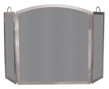 Uniflame, S-7700, 3 Fold 304 Stainless Steel Screen with Handles
