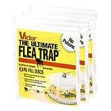 Victor Ultimate Flea Trap Refills 3 Pack (9 Traps Total)
