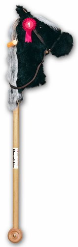 Brookite Bramble Hobby Horse Black