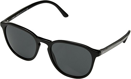 Giorgio Armani Unisex 0AR8104 Black/Crystal/Grey One - Style Giorgio Armani