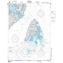 NGA Chart 14061 Grand Manan (Bay of Fundy)