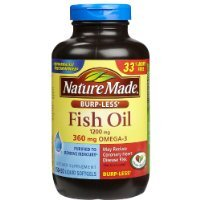 Nature Made Fish Oil 1200 Mg Burp-less, Value Size, 200-Count Sold By HERO24HOUR Thank You (Natural Made Fish Oil 1200mg compare prices)