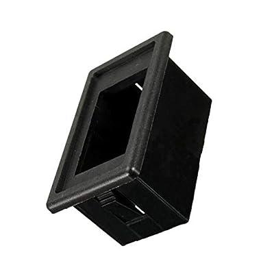 ESUPPORT Car Auto Toggle Rocker Switch Bar Dash Board Panel Switch Holder Housing Kit Black: Automotive