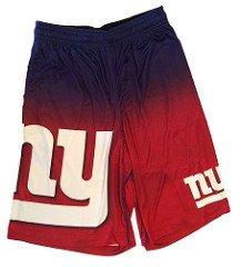 FOCO NFL New York Giants Football Team Logo Gradient Big Logo Training Shorts, Team Color, Large