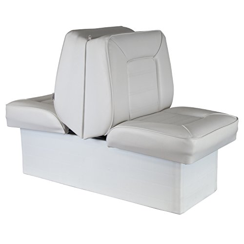 Wise 8WD505P-1-710 Deluxe Bucket Style Lounge Seat (White)