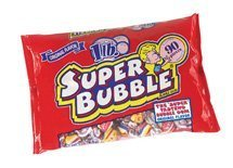 Super Bubble Bubble Gum, 1lb Bag of the Original Flavor