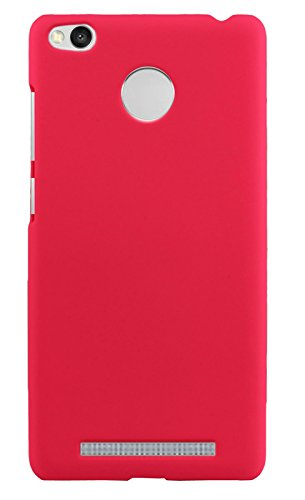 uk availability 2bd22 285a1 Parallel Universe Xiaomi Redmi 3S Prime Back Cover Case Premium Smooth  Rubberised Matte Finish Hard PC backcover- Hot Pink