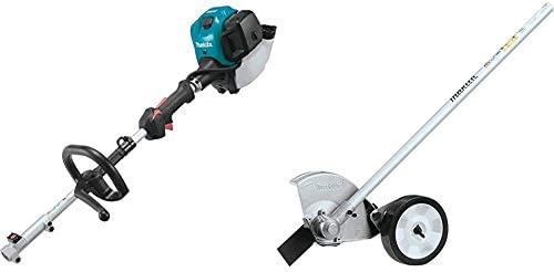 Makita EX2650LH 25.4 cc MM4 4-Stroke Couple Shaft Power Head and EE400MP Edger Couple Shaft Attachment