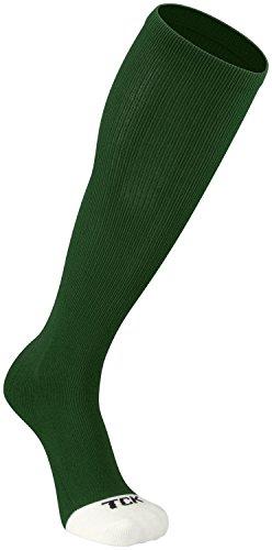 Green Womens Socks (TCK Prosport Performance Tube Socks (Dark Green, Medium))