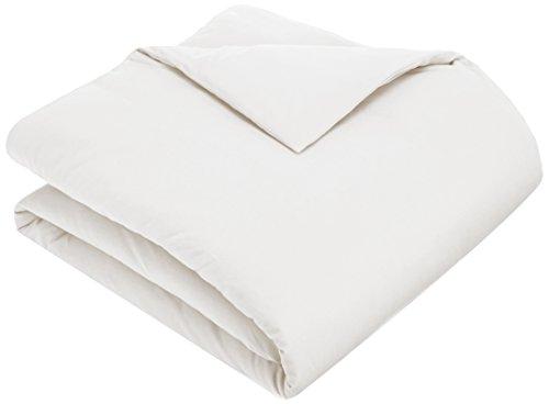 Pinzon 170 Gram Flannel Duvet Cover - Full/Queen, White