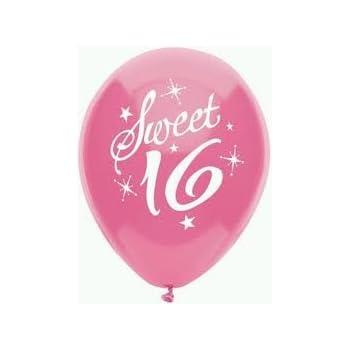 amazon com sweet 16 birthday party balloons 16th birthday