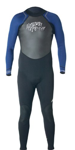 Hyperflex Wetsuits Men's Access 3/2mm Full Suit, Black/Blue, X-Large - Surfing, Windsurfing & - Mens Suits Wet