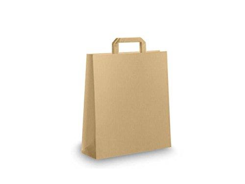 Bolsas para compra con asas de papel blanco o reciclado ...