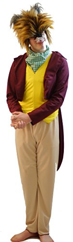 [World Book Day-Stage-Dance- FANTASTIC MR FOX COSTUME All Childrens Sizes (AGE 3-4)] (Fantastic 4 Costume Uk)