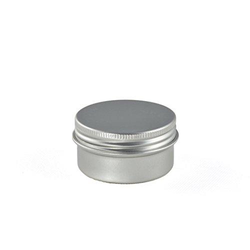 5er Set Aluminium Teebox Mit Schraubverschluss Aufbewahrungsbox In