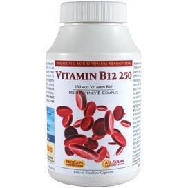 Vitamin B12-250 180 Capsules