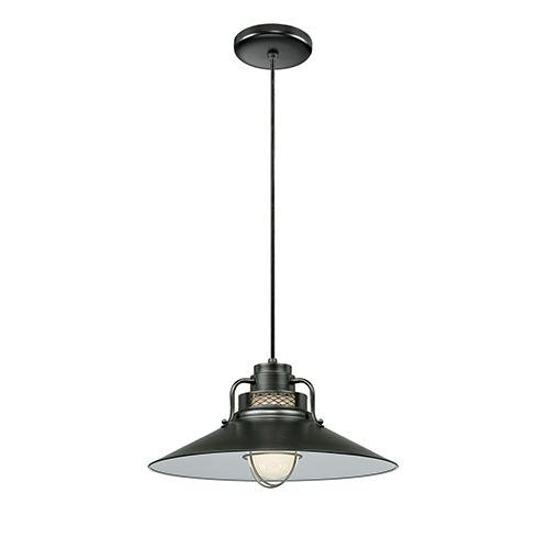 Millennium RRRC18-SB One Light Pendant Black