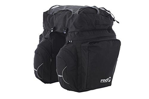 Red Cycling Products Touring Set Gepäckträgertasche schwarz 2017 Fahrradtasche