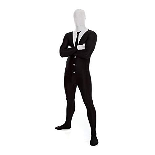 Prank Halloween Costumes (Morphsuits Men's Zalgo Monster Adult Fun Costume, Slenderman,)