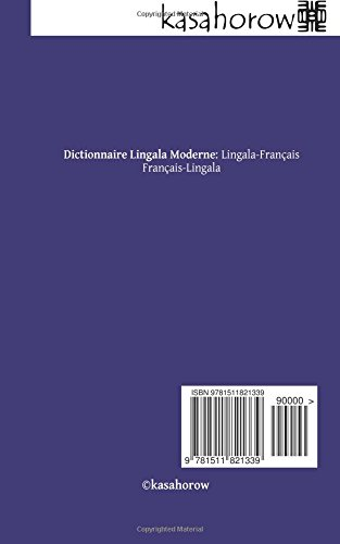 DICTIONNAIRE LINGALA FRANÇAIS TÉLÉCHARGER