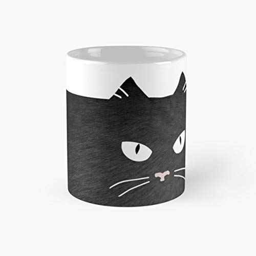 Whiskers Cat Cats 11 Oz Coffee Mugs ()
