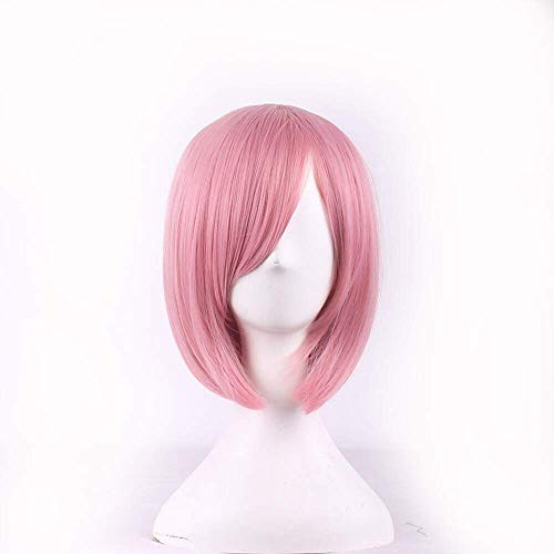 cosplay pink color fashion wigs japanese anime halloween