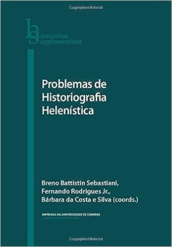 Problemas de Historiografia Helenística