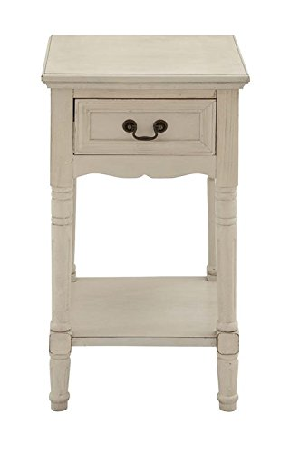 Deco 79 Wooden Night Stand, 16-Inch Width by 29-Inch Height