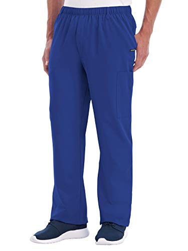 - Jockey 2305 Men's Multi-Pocket Cargo Scrub Pant Galaxy Blue 4XL