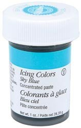 Bulk Buy: Wilton Icing Colors 1 Ounce Sky Blue W610-700 (6-Pack)