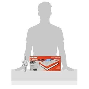 FRAM CA10236 Extra Guard Panel Air Filter