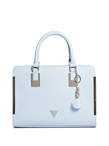 GUESS Factory Women's Angelina Pom Charm Satchel from GUESS Factory