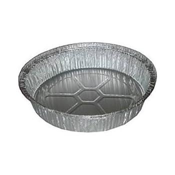 Amazon Com Disposable Aluminum Foil Pans 9 Inch Round