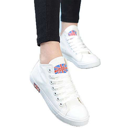 Summer Femme Women Basket New Shoes Black Mid Shoes Sneakers Shoes Ladies Top Casual Canvas x188Uqgwv