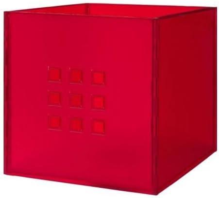 Boxen Fach* wie Dröna IKEA LEKMAN Box Dunkelgrau 33x37x33cm Kallax Expedit Regal