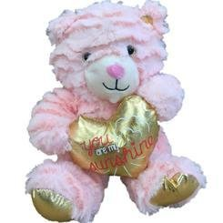 Amazon Com Animal Adventure 8 Pink Plush Bear Stuffed Animal W