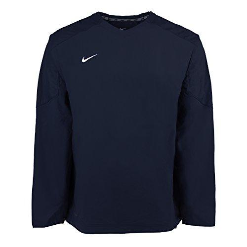 Nike V-neck Pullover (Nike Men's Staff Ace Dri-Fit Pullover Collegiate Navy 2XL)
