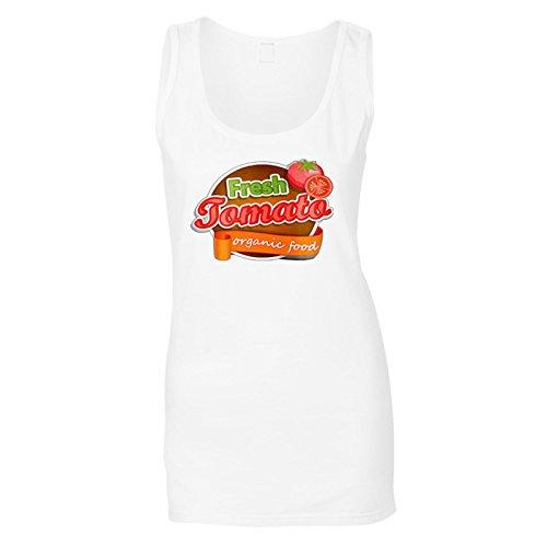 Neue Frische Tomaten Bio Damen Tank top l929ft