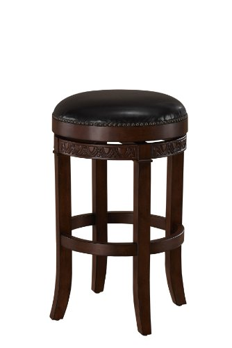 American Heritage Billiards Portofino Bar Height Stool, Brown Review