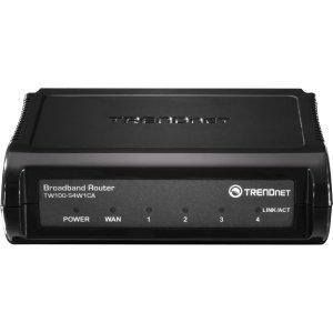 4 Port Broadband Vpn Router (TRENDnet TW100-S4W1CA Broadband)