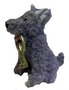 (Disney Pirates of the Caribbean Dog W Keys 10 Plush Doll Toy)