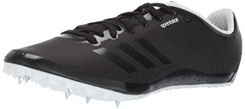 (adidas Men's Sprint Star, Black/White, 7 M US)