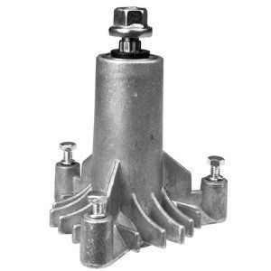 New Replacement for 130794 Spindle, or Mandrel, Craftsman, Poulan, Husqvarn, More.... with pre-tapped mounting holes and 3 mounting bolts by Rotary