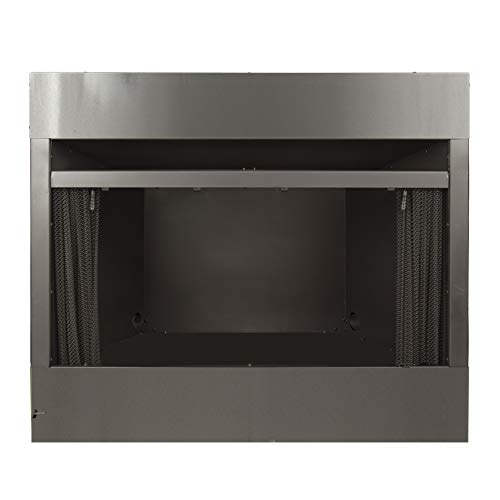 Pleasant Hearth 42 in. Radiant Zero Universal Vent Free firebox, Black ()