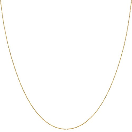 10k Gold 20 Inch Necklace - 5