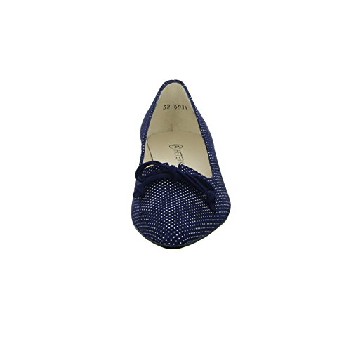 22707 Peter 417 Notte Suede spillo Blue Mujer Kaiser spillo Notte Suede Bombea FTFvrPq