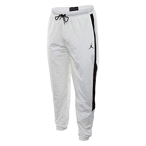 Jordan Sportswear Diamond Track Pants Mens Style: JORD-AQ2686-100 Size: XL White/Black
