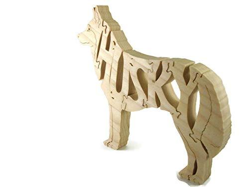 Husky Dog Wood Jigsaw Puzzle